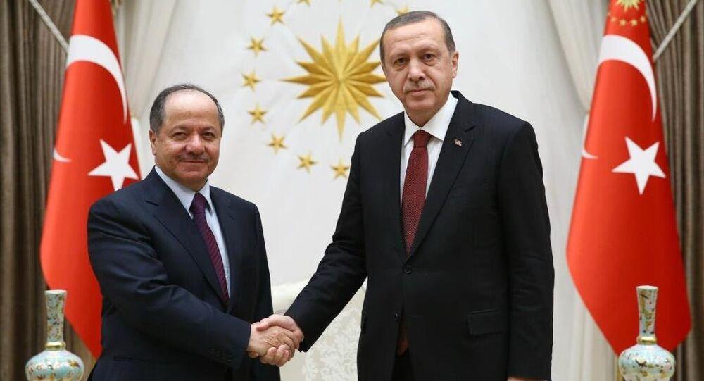 Mesud Barzani- Recep Tayyip Erdoğan