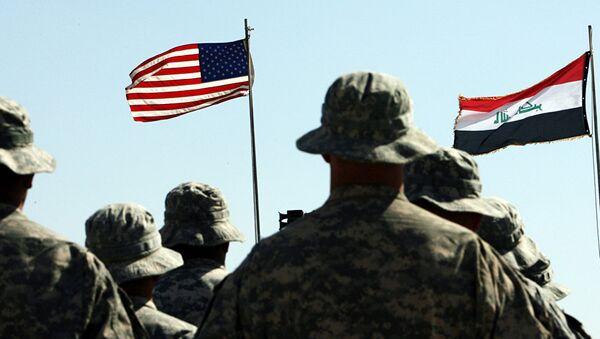 Irak, ABD askeri - Sputnik Türkiye