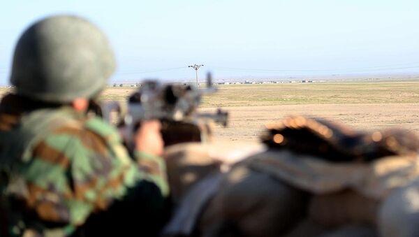 Irak Kürt Bölgesel Yönetimi'ne (IKBY) bağlı Peşmerge güçleri - Sputnik Türkiye
