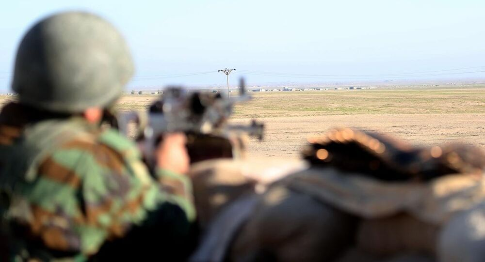 Irak Kürt Bölgesel Yönetimi'ne (IKBY) bağlı Peşmerge güçleri
