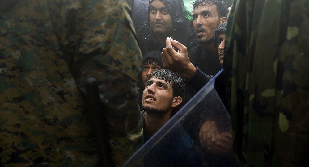 Makedonya - Yunanistan sığınmacı