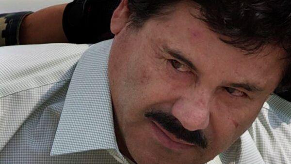 Meksikalı uyuşturucu baronu Joaquin Guzman - Sputnik Türkiye