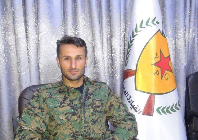 YPG Afrin Komutanlarından Fırat Xelil