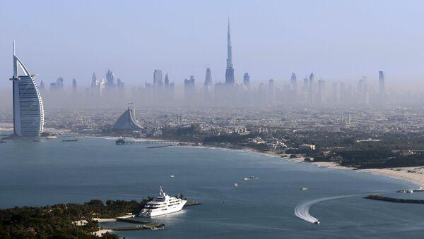 Dubai'de yer alan dünyanın en yüksek gökdeleni Burç Halife. - Sputnik Türkiye