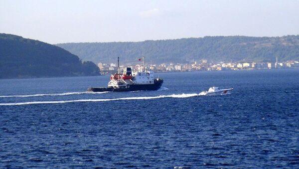 Rus Donanması'na ait 'SB 36' adlı askeri kurtarma römorkörü - Sputnik Türkiye