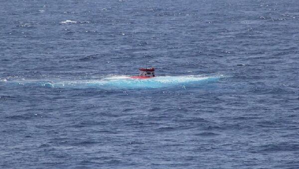 'Rus' adlı insansız deniz aracının Atlantik Okyanusu'nda test edildi - Sputnik Türkiye