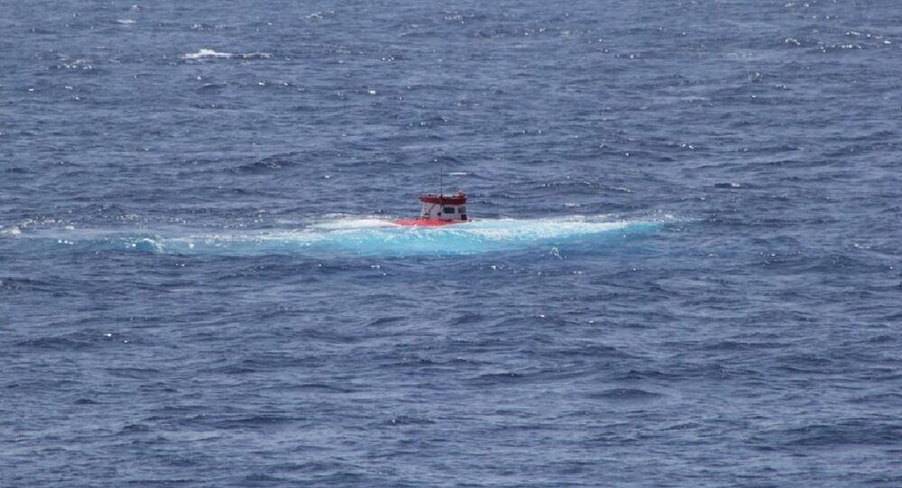 'Rus' adlı insansız deniz aracının Atlantik Okyanusu'nda test edildi