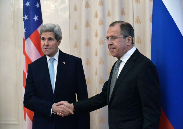 ABD Dışişleri Bakanı John Kerry- Rusya Dışişleri Bakanı Sergey Lavrov