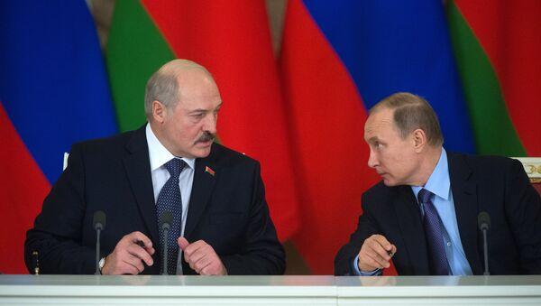 Lukaşenko ile Putin - Sputnik Türkiye