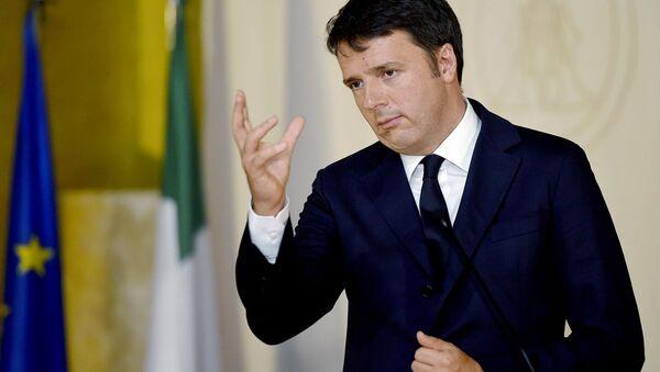 İtalya Başbakanı Matteo Renzi - Sputnik Türkiye