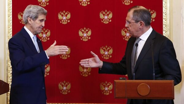 Rusya Dışişleri Bakanı Sergey Lavrov - ABD Dışişleri Bakanı John Kerry - Sputnik Türkiye