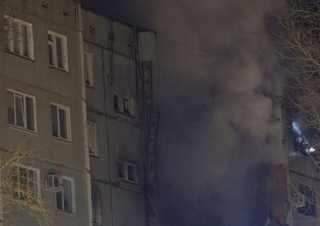 Rusya doğalgaz patlaması
