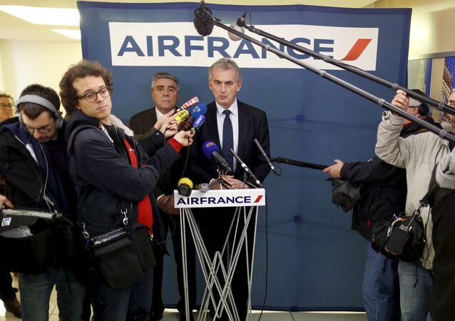 Air France CEO'su Frederic Gagey