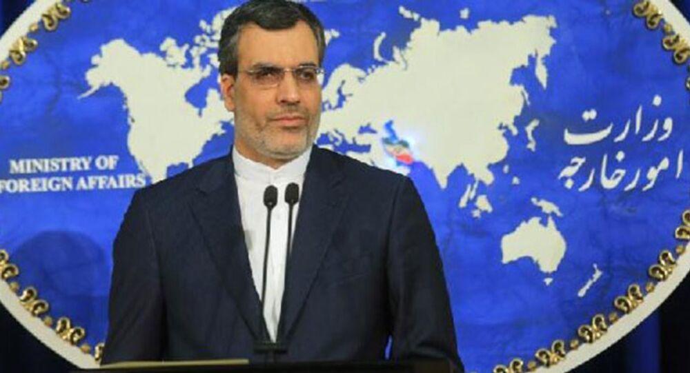 İran Dışişleri Bakanlığı Sözcüsü Hüseyin Cabir Ensari