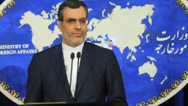 İran Dışişleri Bakanlığı Sözcüsü Hüseyin Cabir Ensari - Sputnik Türkiye