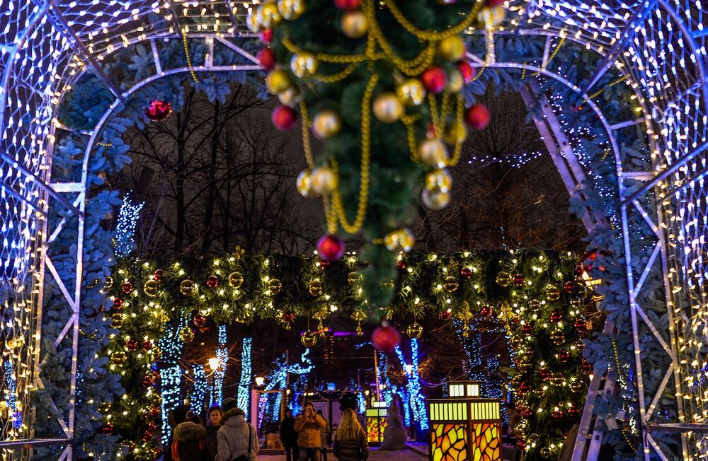 Moskova'da yeni yıl kutlamaları