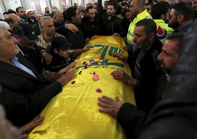 Hizbullah'ın üst düzey isimlerinden Samir Kantar'ın cenazesi