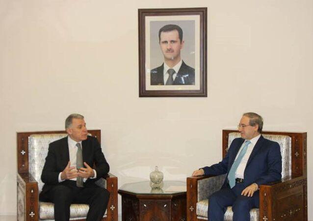 Vatan Partisi heyeti, Suriye'yi ziyaret etti