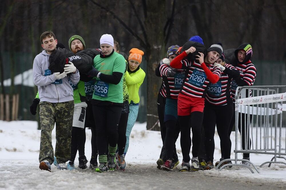Moskova'da kış oyunları