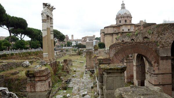 Roma'daki  İmparatorluk Forumları - Sputnik Türkiye