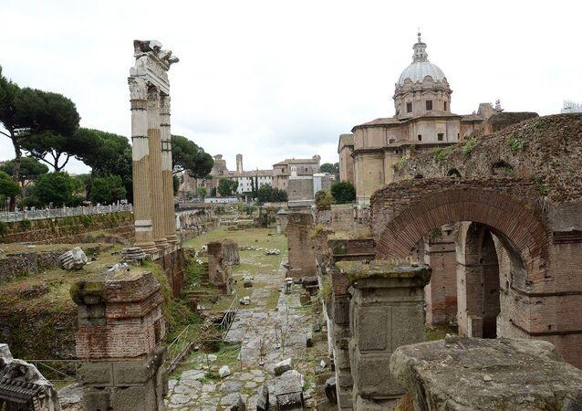 Roma'daki  İmparatorluk Forumları