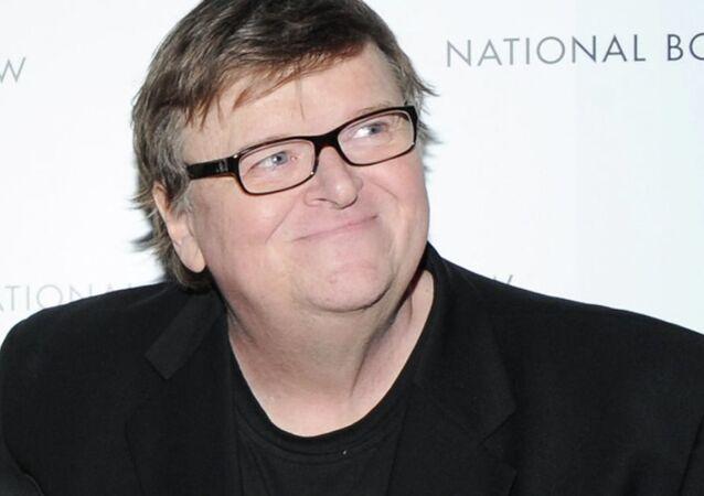 ABD'li yönetmen Michael Moore