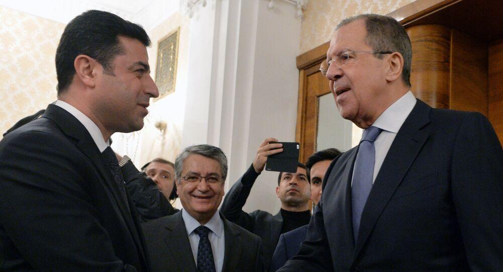 Rusya Dışişleri Bakanı Sergey Lavrov- HDP Eş Başkanı Selahattin Demirtaş