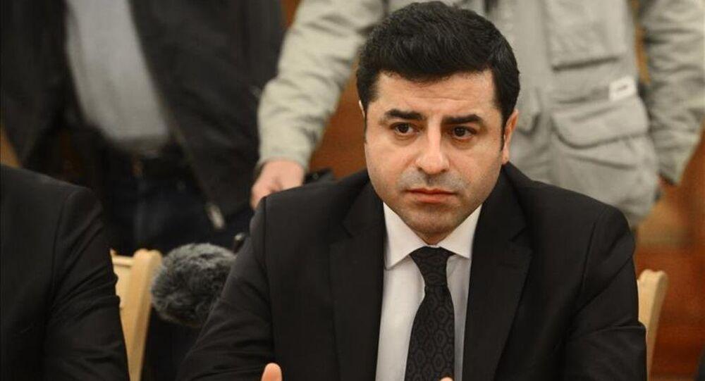 HDP Eş Genel Başkanı Demirtaş Moskova'da