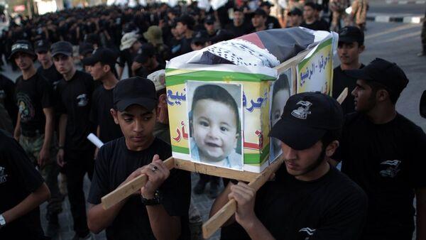 Yahudi yerleşimciler tarafından öldürülen Filistinli bebek Ali Devabişe - Sputnik Türkiye