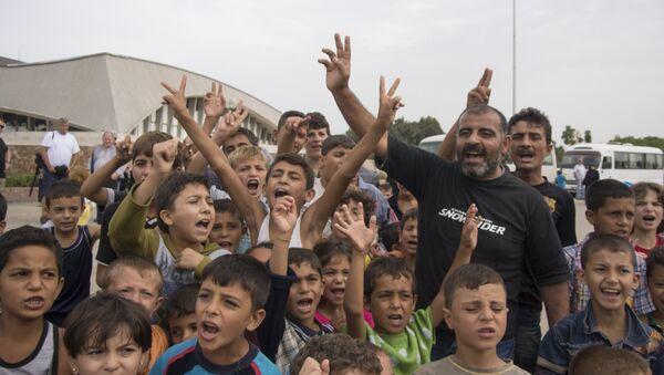 Suriyeli mülteci çocuklar - Sputnik Türkiye