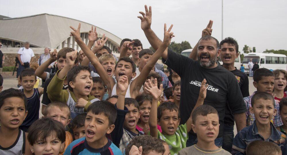 Suriyeli mülteci çocuklar