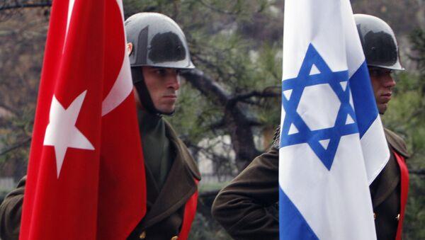 İsrail -Türkiye - Bayrak - Sputnik Türkiye