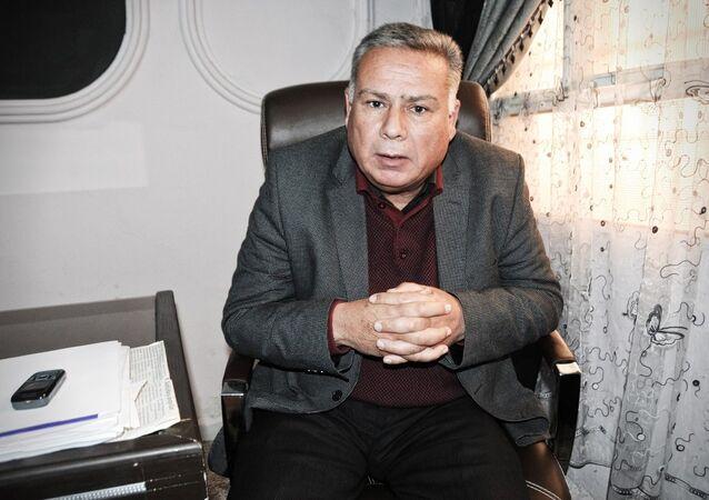 Suriye'nin Tel Abyad kentinde yaşayan Türkmenlerin önde gelen isimlerinden olan Muhammed İbrahim Hasan