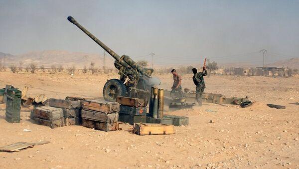 Suriye ordusu Palmira yakınlarında - Sputnik Türkiye