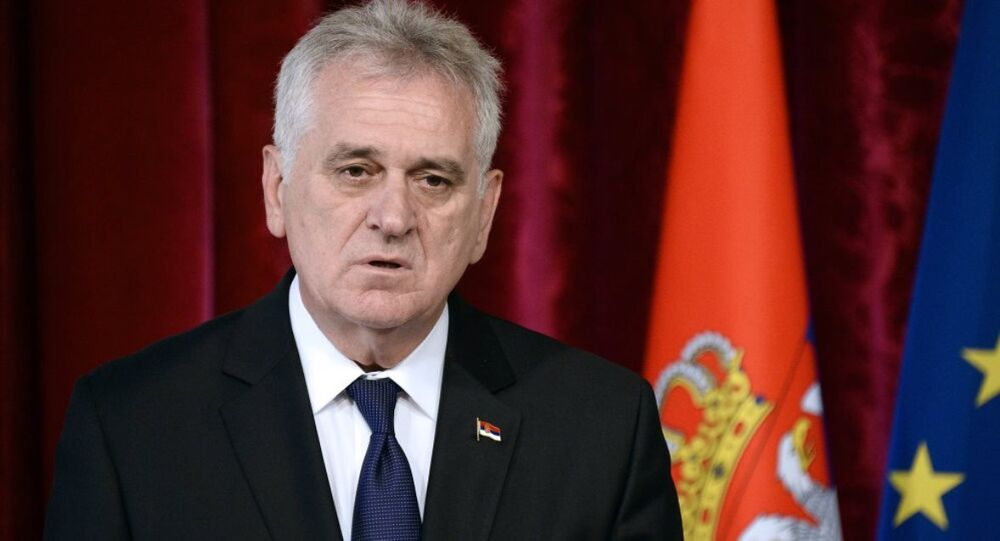 Sırbistan Devlet Başkanı Tomislav Nikoliç
