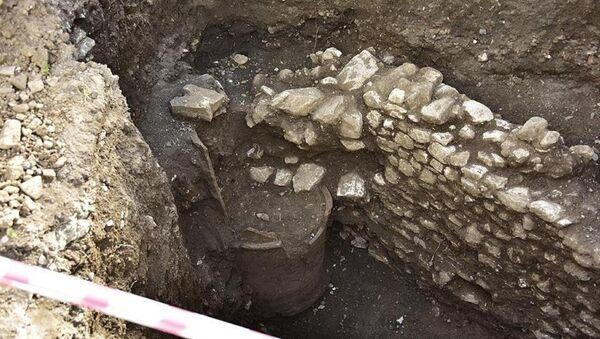 İnşaat kazısından Helenistik döneme ait kuyu çıktı - Sputnik Türkiye