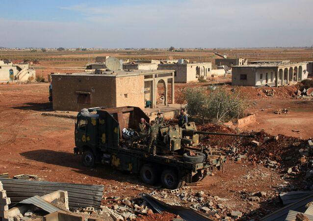 Halep - Suriye ordusu