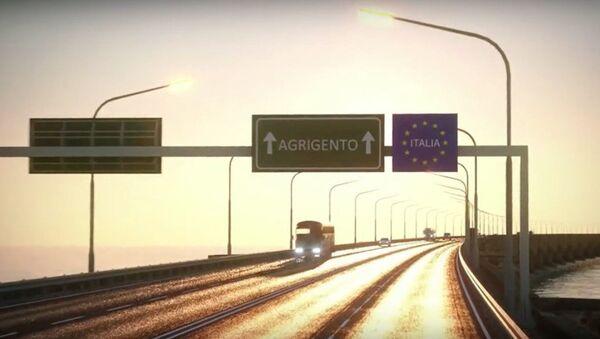 Tunus-İtalya köprü. - Sputnik Türkiye