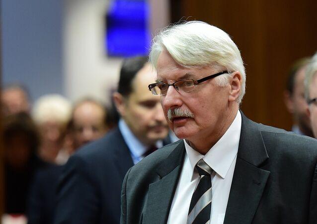 Polonya Dışişleri Bakanı Witold Waszczykowski