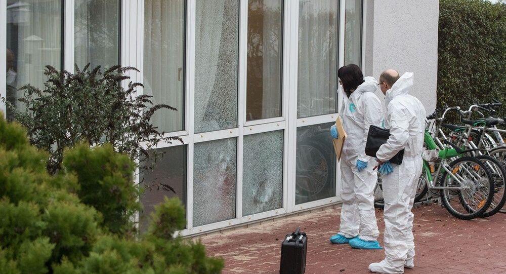 Almanya'nın Frankfurt kenti yakınlarındaki Dreieich kasabasında bir sığınmacı merkezinde uyuyanların üzerine ateş açıldı.
