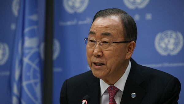 BM Genel Sekreteri Ban Ki-mun - Sputnik Türkiye