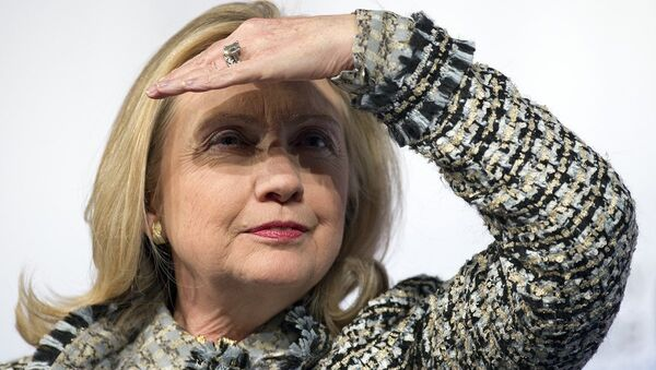 ABD başkan aday adayı Hillary Clinton - Sputnik Türkiye