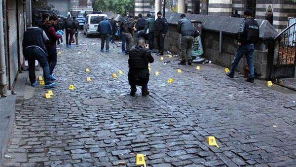 Tahir Elçi'nin öldürüldüğü yerde 28 silahtan 108 mermi ateşlendi. - Sputnik Türkiye