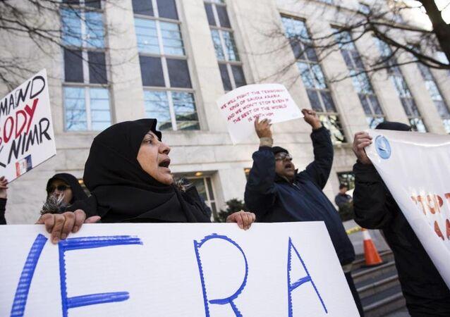 Suudi Arabistan'daki idamlar ABD'de protesto edildi