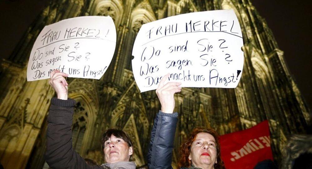 Köln taciz protesto