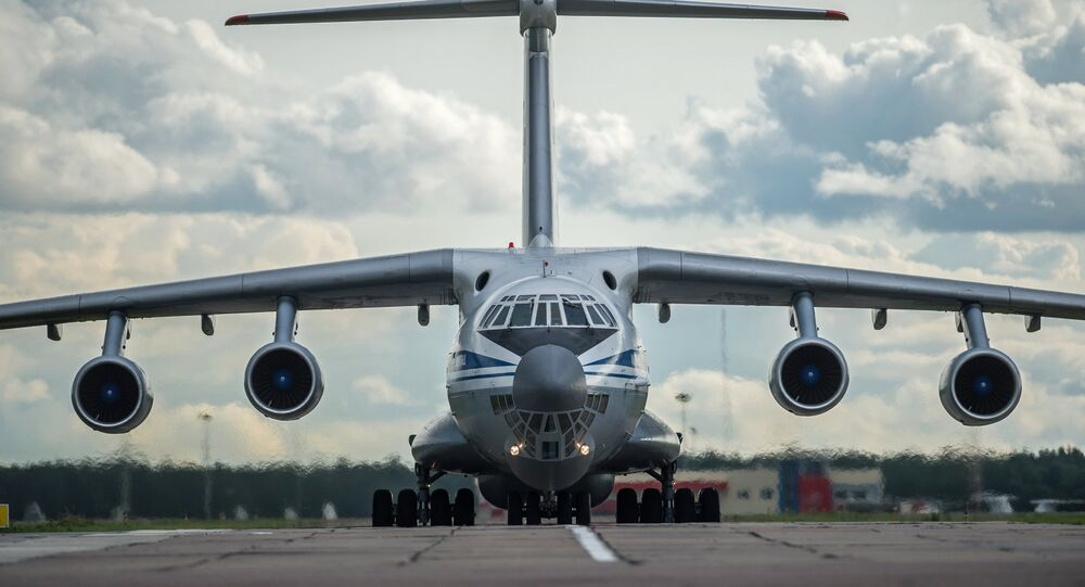 Il-76 askeri nakliye uçağı
