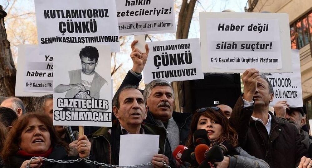 10 Ocak Çalışan Gazeteciler Günü eylem