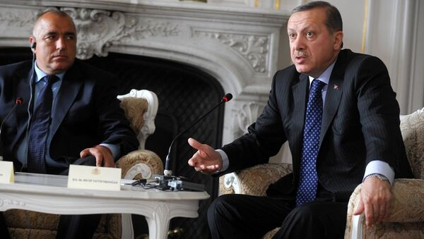 Bulgaristan Başbakanı Boyko Borisov ve Cumhurbaşkanı Recep Tayyip Erdoğan - Sputnik Türkiye