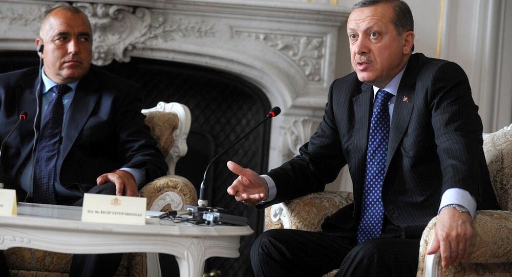 Bulgaristan Başbakanı Boyko Borisov ve Cumhurbaşkanı Recep Tayyip Erdoğan