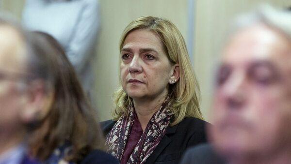 İspanya Prensesi Cristina - Sputnik Türkiye